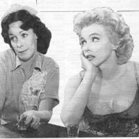 Mom & Marilyn - Bus Stop -TV Guide